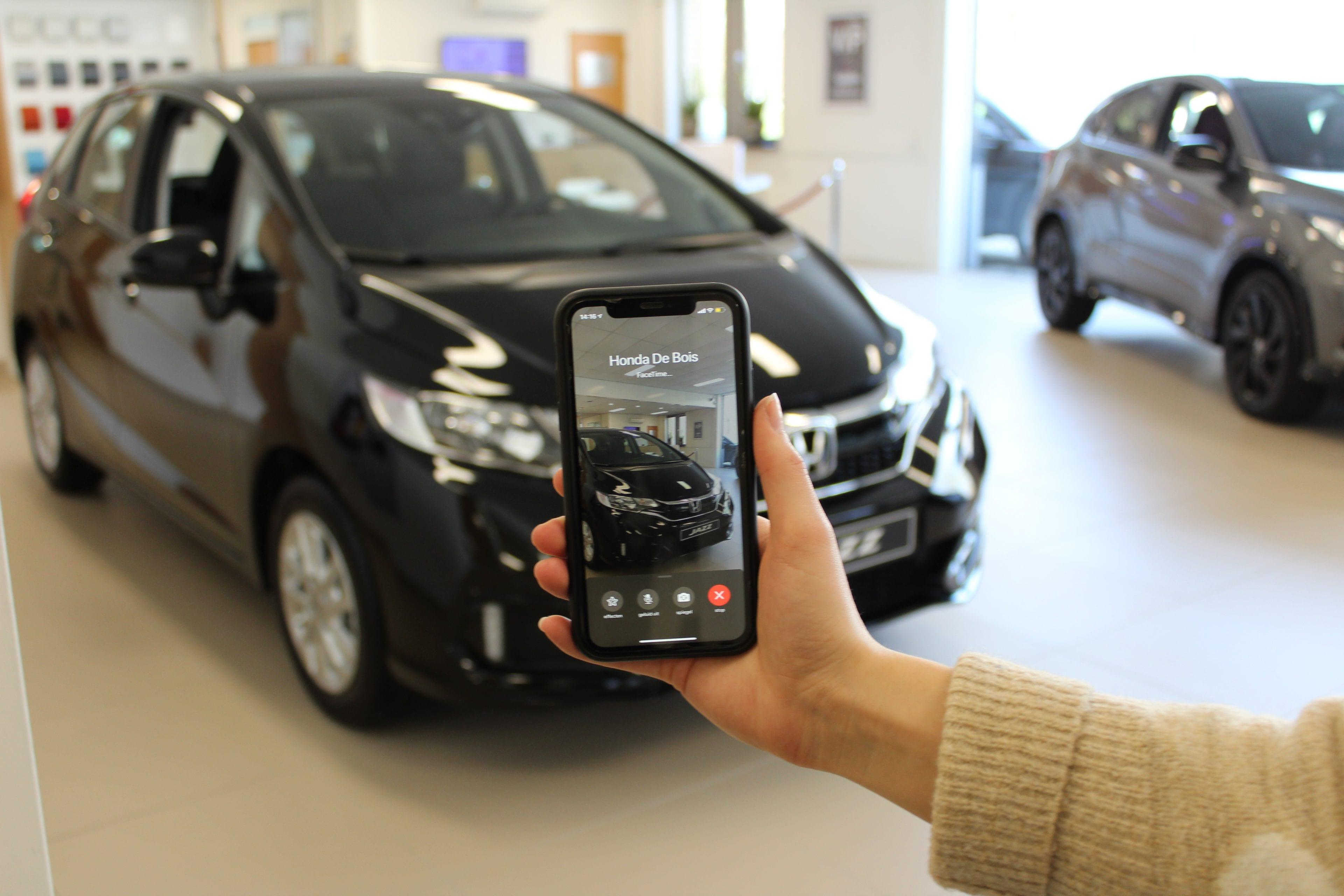 Online bereikbaarheid van Honda de Bois