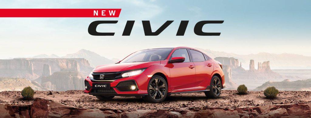 De nieuwe Civic 5-deurs
