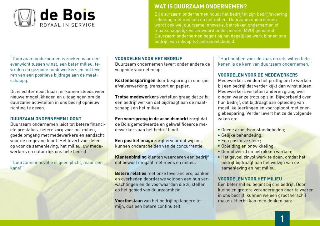 pagina 1 duurzaam ondernemen