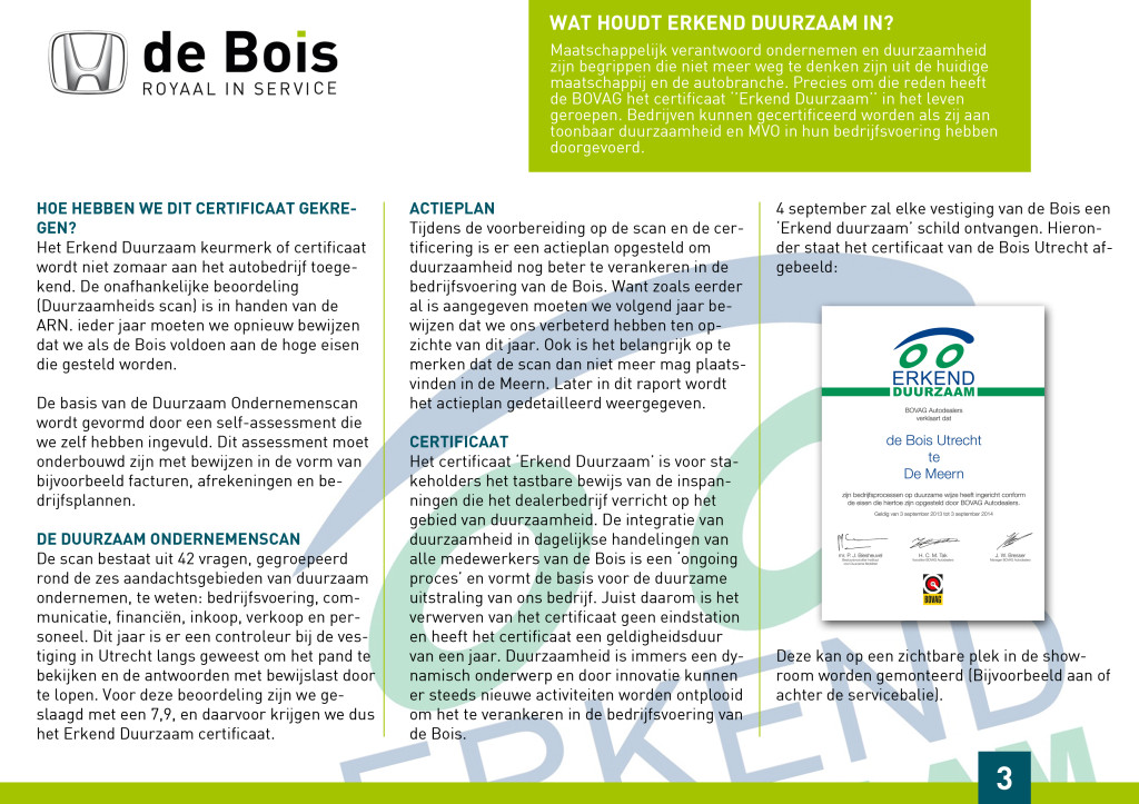pagina 3 duurzaam ondernemen
