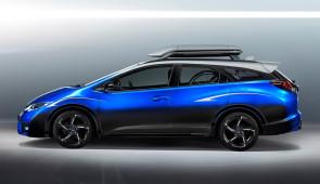 Honda Civic Tourer Active Life Concept: auto voor mensen die fietsen