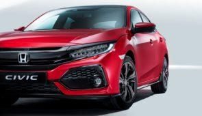 Honda Civic laat zich van alle kanten zien in Parijs