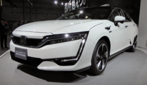 De eerste Honda Clarity Fuel Cell