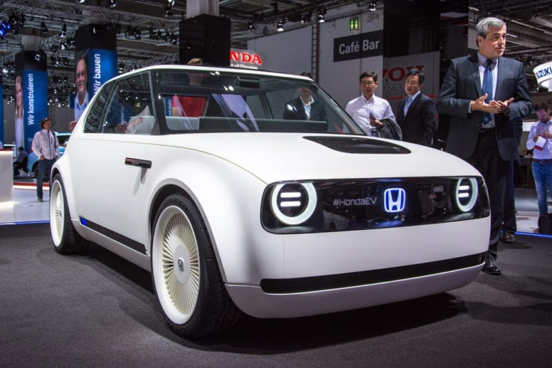 Tag Elektrische Auto Honda De Bois