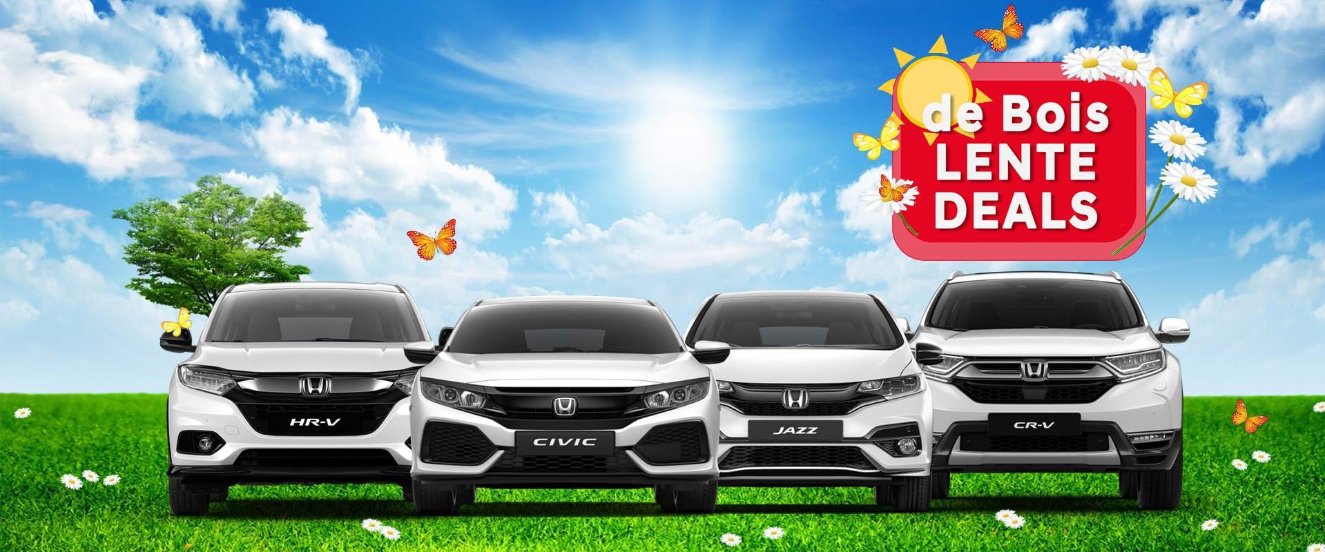 Honda Voorraaddeals!