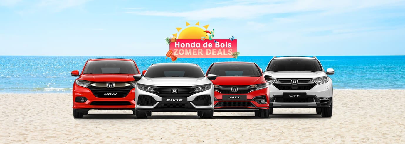 Zomer Deals bij Honda de Bois