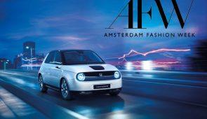 Honda e op Amsterdam Fashion Week